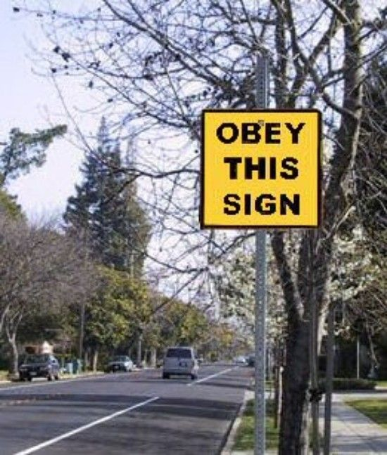 Best SignsPosters Images On Pinterest Beautiful Brain And - 22 hilarious truck signs spotted on the road