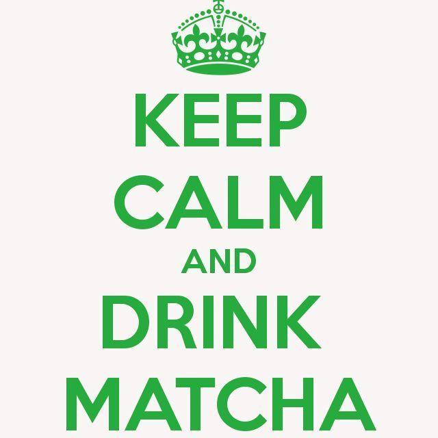 Happy Weekend! Keep calm and drink matcha  . #tgif #friday #calm #matcha #greentea #tea #australia