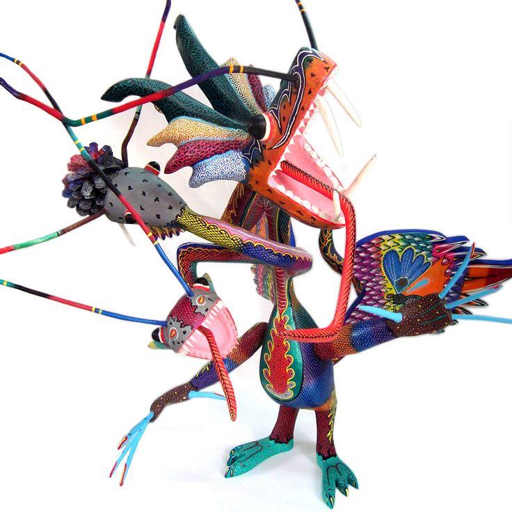 Ale Piękny Świat - blog Doroty Chojnowskiej o podróżowaniu: Meksyk – Alebrijes, czyli zwierzaki nie z tego świata