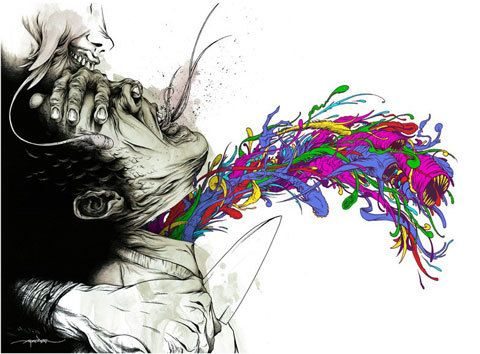 Alex Pardee, A beautiful, talented man.