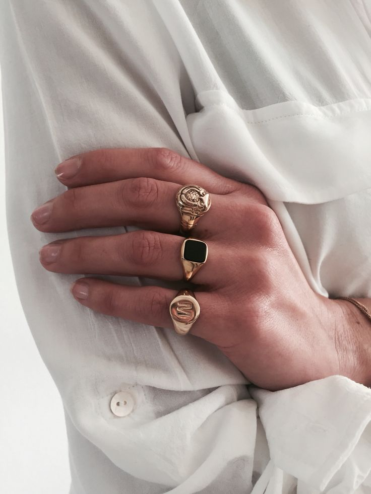 Best 25+ Gold rings ideas on Pinterest | Stacked rings, Gold ring ...
