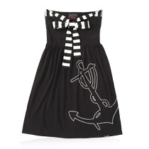 sailor dress anchor