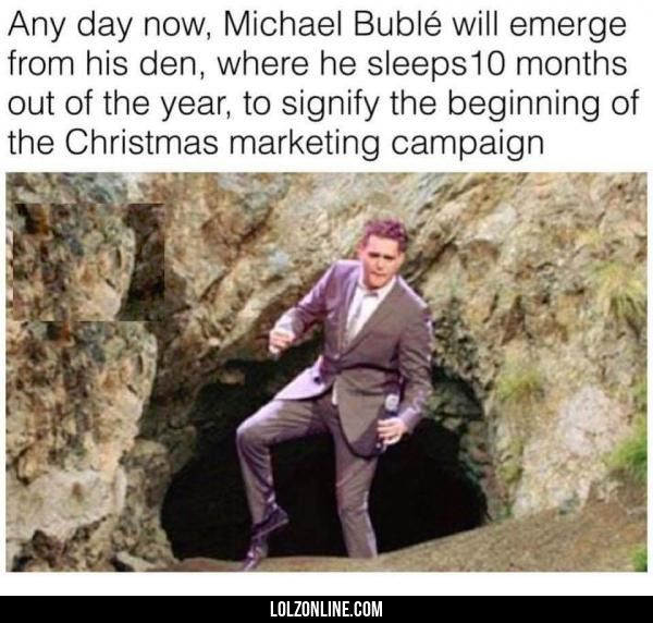 Any day now#funny #lol #lolzonline >>> issa wild Michael bublé