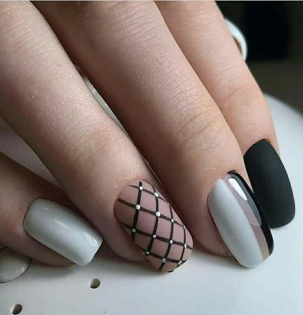 Unique And Beautiful Winter Nail Designs 2019 Winter Nail