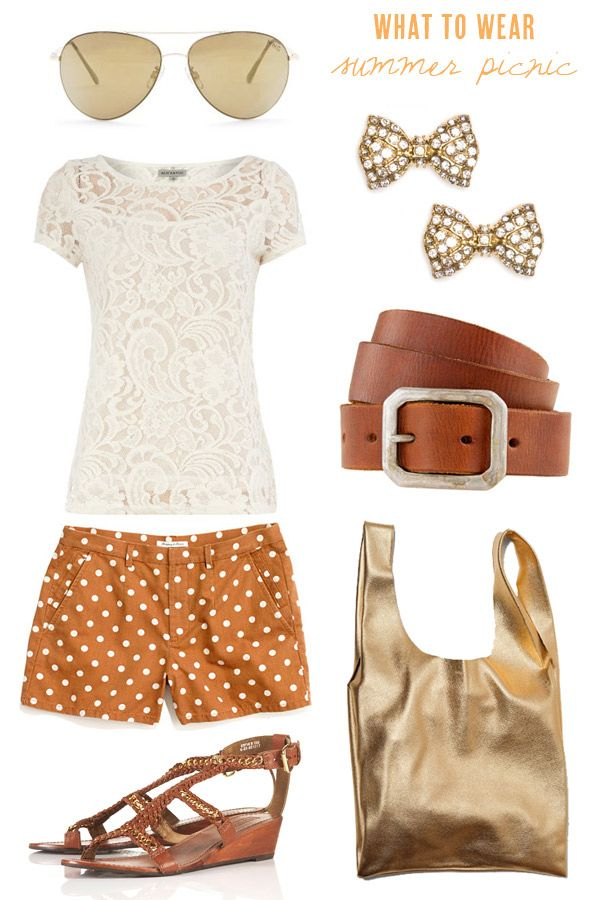What to wear to a late summer picnic   The Sweetest Occasion