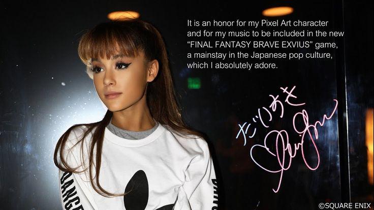 Ariana Grande – Touch It - FINAL FANTASY BRAVE EXVIUS Remix || Music Vid...