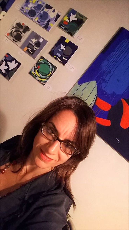 """andrea mattiello """"NINFEE; I FIORI D'ACQUA"""", Spazio espositivo di Via della Cervia, Lucca #andreamattiello #waterflower #waterlilies #ninfea #collage #contemporaryart #lucca"""