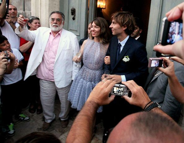 Sofia Coppola marries Thomas Mars of the French indie rock group, Phoenix. The wedding was attended by Sofia's famous father, Francis Ford Coppola.