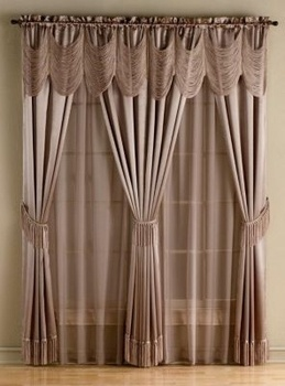 2 Halley 56x63 Quot Window In A Bag Halley Taupe In Spring Big