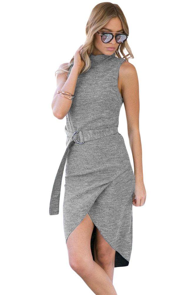 Fashion Dresses : Vestido asimetrico
