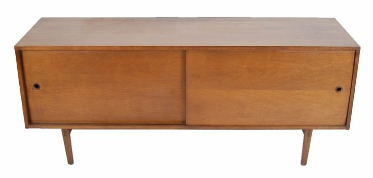 Mid Century Modern Low Cabinet Credenza Sideboard Tv Stand Ebay Credenza Tv Stand Low Cabinet Tv Sideboard