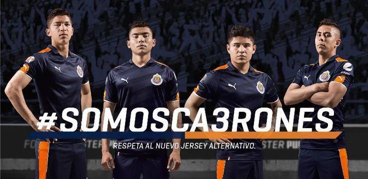Nuevo jersey alternativo de Puma para Chivas