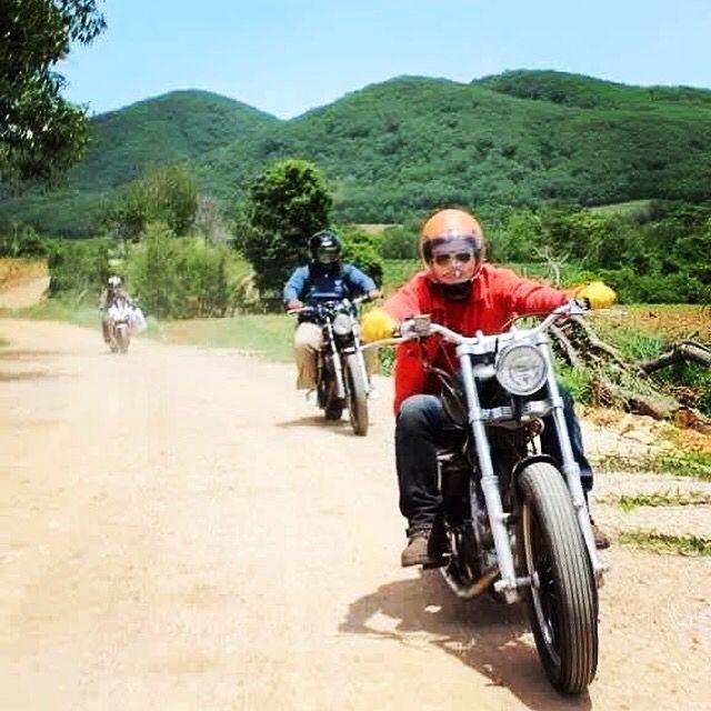 On The Road Yamaha Xv Virago 750 SR400 CBR500R