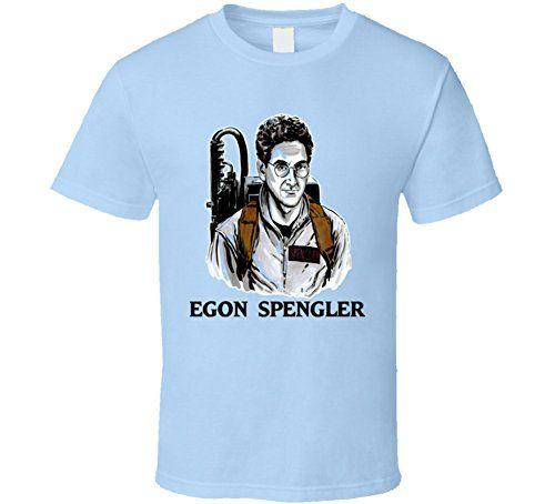 Yeoldeshirtshop Egon Spengler Movie Ghostbusters 80s Harold Ramis T Shirt 2XL Light Blue @ niftywarehouse.com #NiftyWarehouse #Geek #Horror #Creepy #Scary #Movies