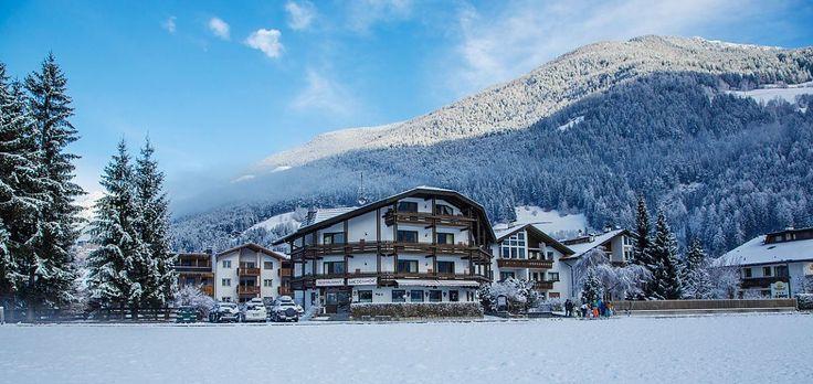 Zima v údolí Tauferer Ahrntal