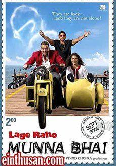 Lage Raho Munna Bhai Hindi Movie Online - Sanjay Dutt, Arshad Warsi, Vidya Balan, Boman Irani and Dilip Prabhavalkar. Directed by Rajkumar Hirani. Music by Shantanu Moitra. 2006 [U] Blu-Ray w.eng.subs