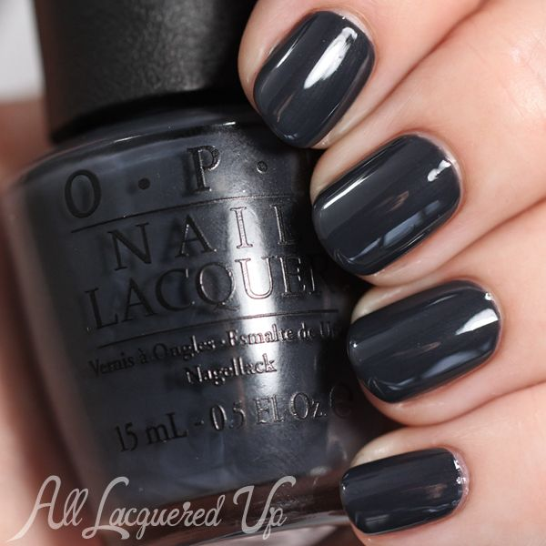 OPI Fifty Shades of Grey Swatches and Review - Dark Side of the Mood via @alllacqueredup