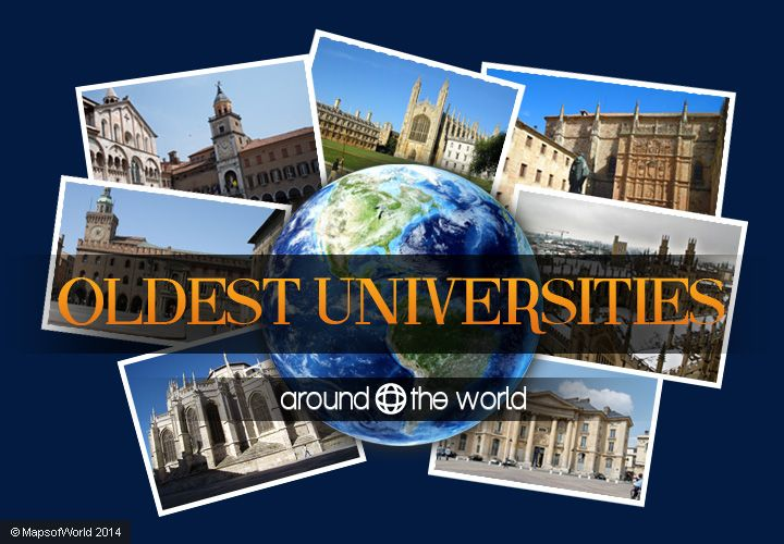 From Cambridge to the university of Oxford, explore oldest universities from around the world