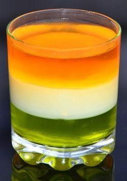 Irish Flag Jellies
