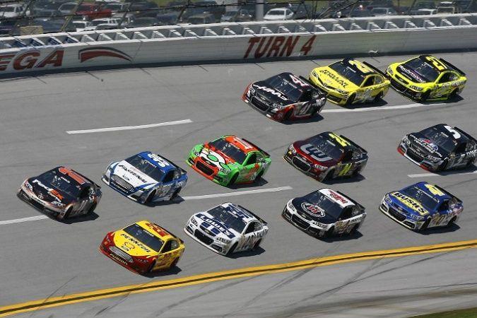 NASCAR: Hamlin wins Talladega under yellow RACER.com