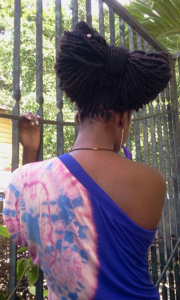 livelaughlovelocs:  Seen on BWNH. See the rest of the style there. Styled by Jus Natural Hair Studio