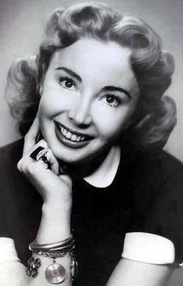 Audrey Meadows ne Audrey Cotter, NYC, (1922-1996).  Actress.  Played Alice Kramden in The Honeymooners.  Sister was Jayne Meadows, actress and wife of Steve Allen.