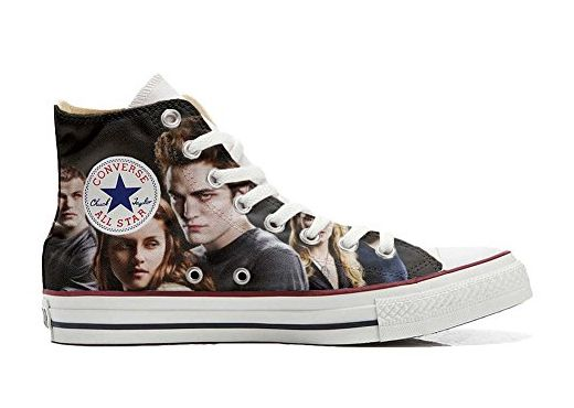 Converse All Star Hi Customized personalisierte Schuhe (Handwerk Schuhe) NY Night