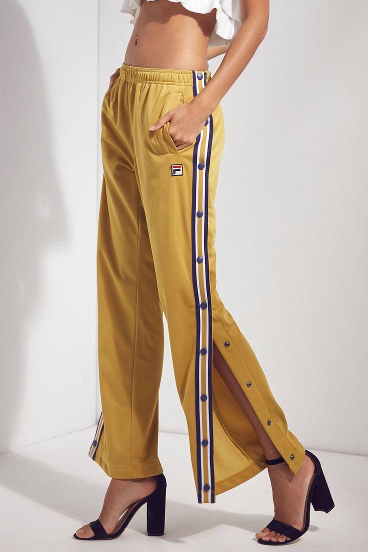 Slide View: 1: FILA + UO Lauren Basketball Tearaway Track Pants