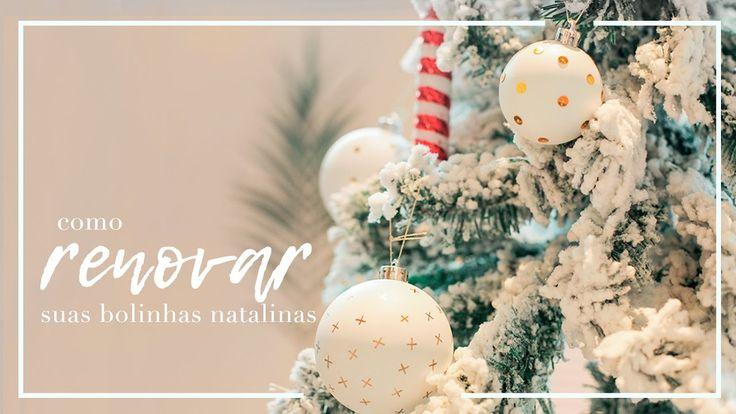 Como renovar suas bolinhas natalinas | WESTWING