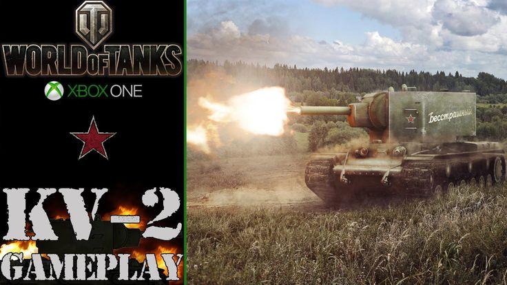 World of Tanks Xbox One: KV-2 | 152 mm gun - Gameplay