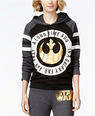 Juniors' Star Wars Graphic-Print Hoodie from Mighty Fine - Star Wars - Macy's