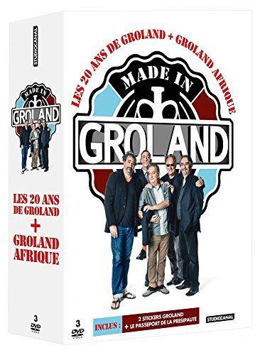 Idée #CadeauDeMerde # : Made in Groland : Les 20 ans de Groland + Groland Afrique