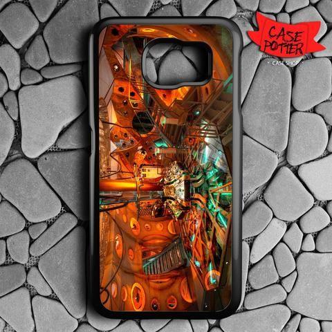 Lab Doctor Who Matt Smith Samsung Galaxy S7 Black Case