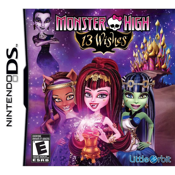 Monster High: 13 Wishes (Nintendo DS)