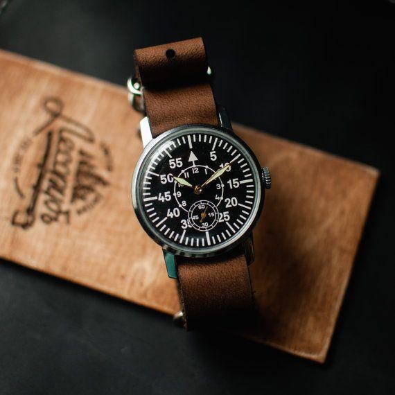 Rare mens wrist watch vintage watch soviet watch Zim от Trulesorub