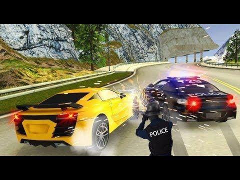 ♥ Video de carro de policia para niños en español | juegos de niños de a...