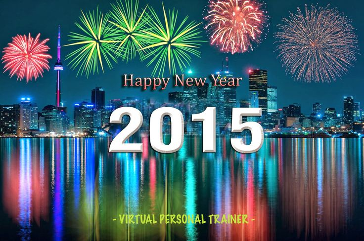 The Virtual Personal Trainer team wishes you a healthy and happy new year! We will continue to support you in 2015 with the same energy and enthusiasm, bringing you more motivation, fitness and health tips. Thank you for following us! Cheers, VPT - http://virtualpersonaltrainer.jimdo.com/