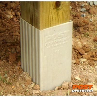 Post Protector 6 In X 6 In X 60 In In Ground Fence Post