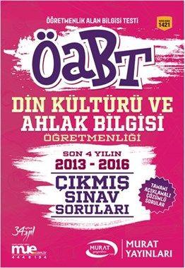 2017 ÖABT Din Kültürü ve Ahlak Bilgisi Öğretmenliği Çıkmış Sınav Soruları Murat Yayınları