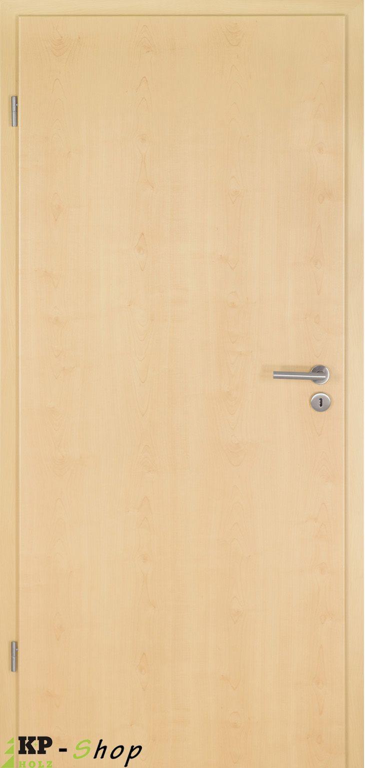 Zimmertüren in ahorn günstig online bestellen. Im Preis ist Türblatt und Zarge enthalten. www.kp-holzshop.de