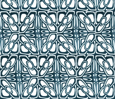 celtic tile 2 fabric by doodlepippin on Spoonflower - custom fabric