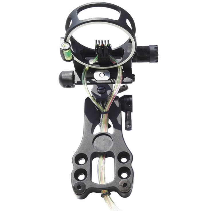 Micro 5 Pin Compound Bow Sight Adjustable Right and Left Handed Bowsight #Affiliate