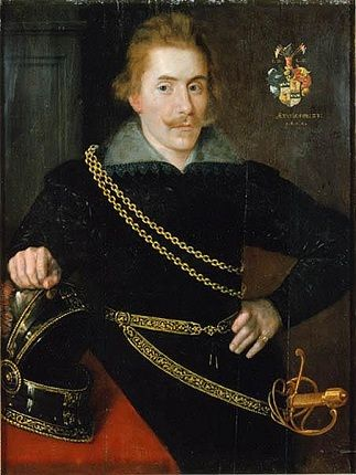 Jacob de la Gardie, 1606 (Unknown Artist) Nationalmuseum, Stockholm, NMgrh 1656