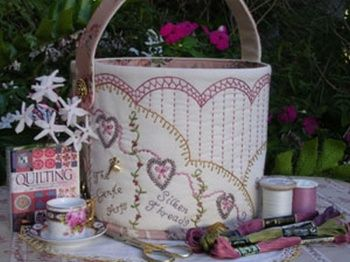 Gentle Arts Sewing Pail