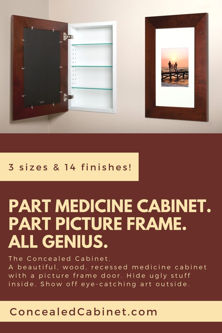 Who Needs Another Mirror In Their Bathroom Not Us Finally You Can Have The Storage You Need And The Decor Recessed Medicine Cabinet Cabinet Bathroom Makeover