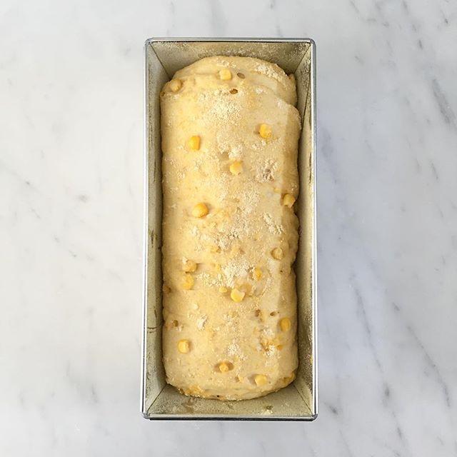 Dit is trouwens mijn perfect gelukte maïsbrood voordat het in de oven ging. Recept komt snel online! #maisbrood #broodbakken #soononline #bread
