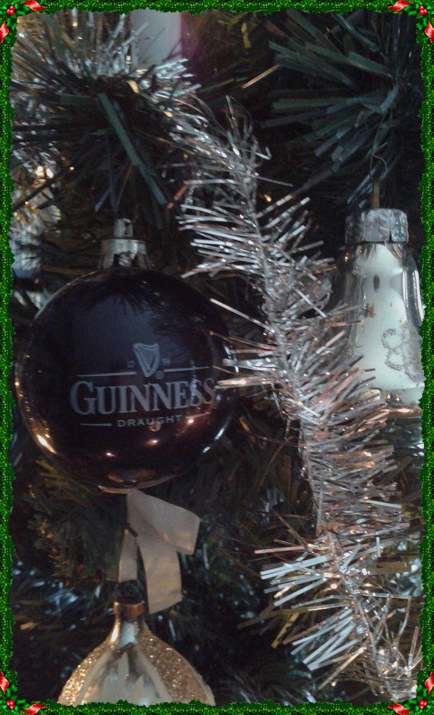 het favoriete bier van manlief, dus ook in kerstbalvorm