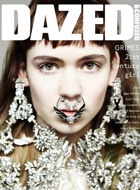 Grimes Covers Dazed & Confused April 2012