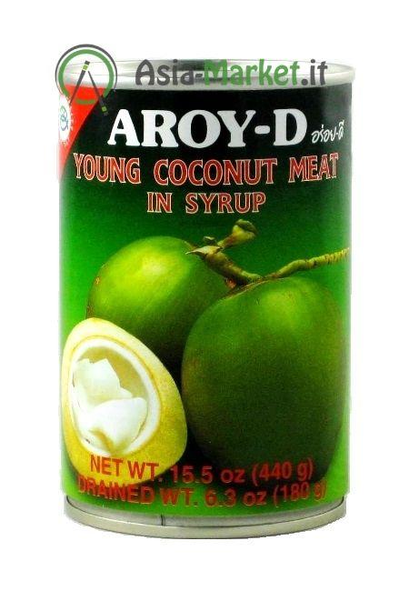 Polpa di cocco in sciroppo - AROY-D 425 g.