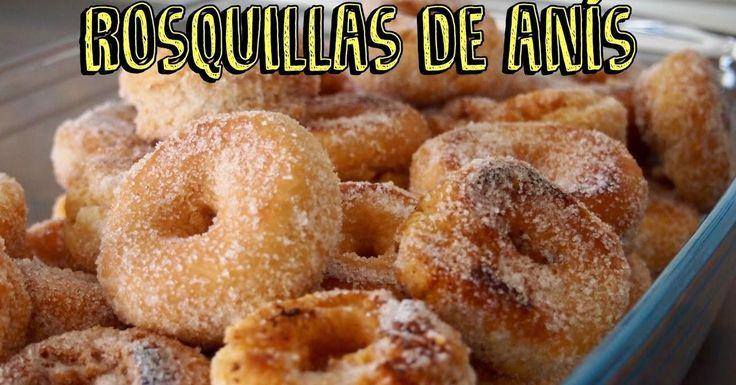 Las rosquillas de siempre, perfectas para Carnaval e, incluso, para Cuaresma y Semana Santa. La receta te la explican al detalle desde el canal RECETAS POR UN TUBO.